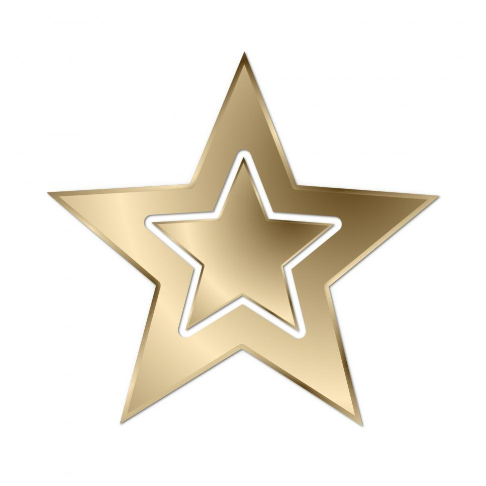 Download Free Stock HD Photo of Gold Star Online