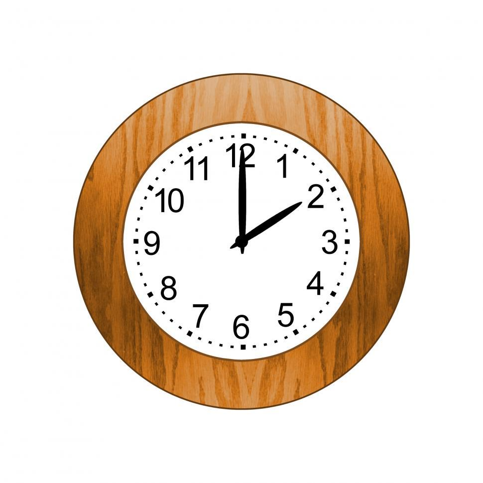 Download Free Stock HD Photo of Brown Wooden Clock Online