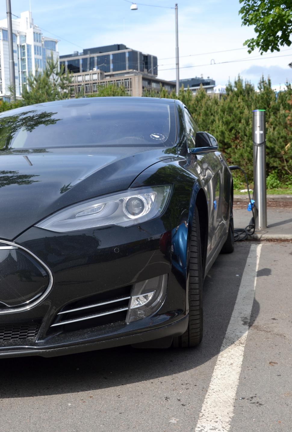 Download Free Stock HD Photo of Charging Tesla Online
