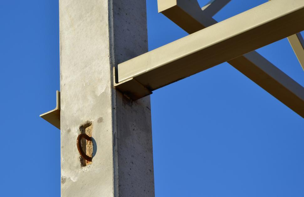 Download Free Stock HD Photo of Steel structure fragment Online