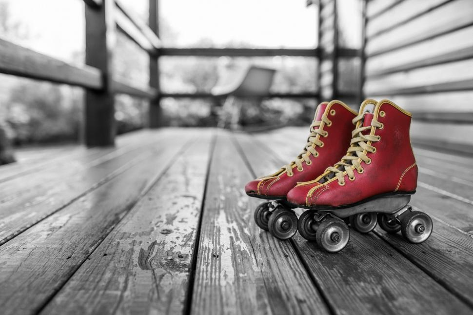 Download Free Stock HD Photo of Roller skates Online