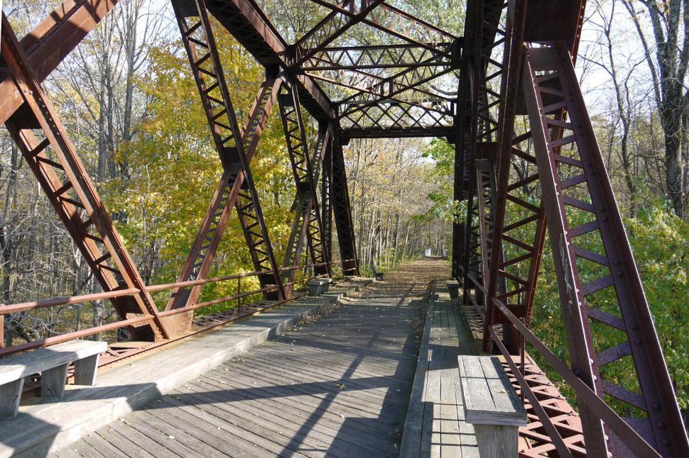 Download Free Stock HD Photo of Steel Bridge Online