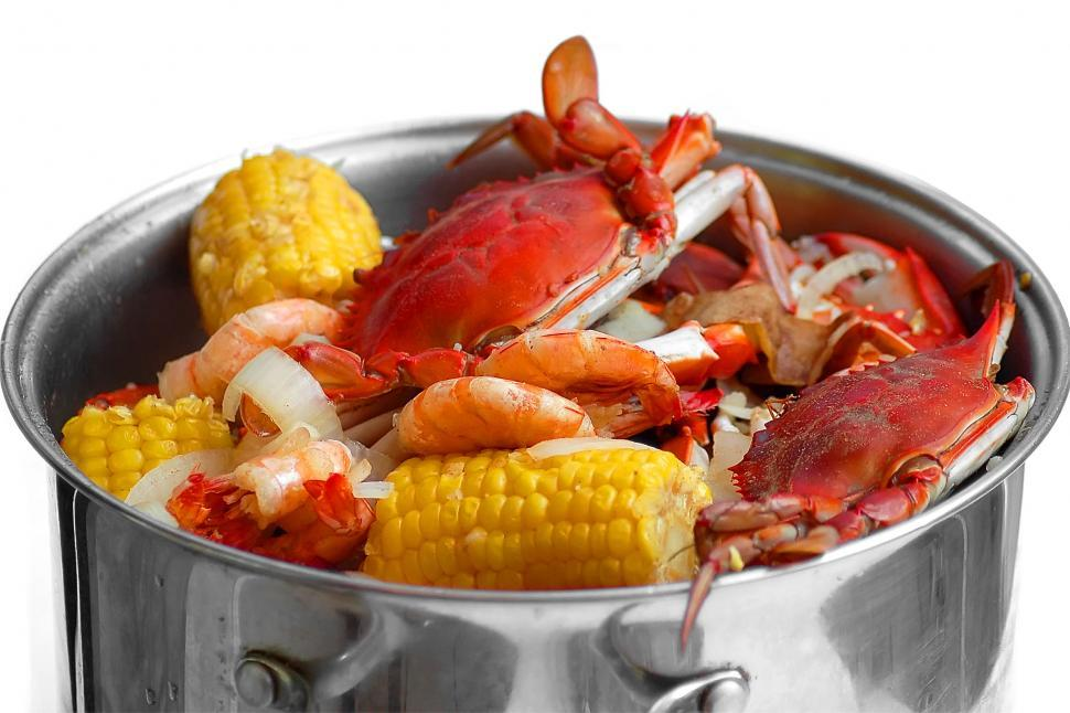Download Free Stock HD Photo of Crab Boil #1 Online