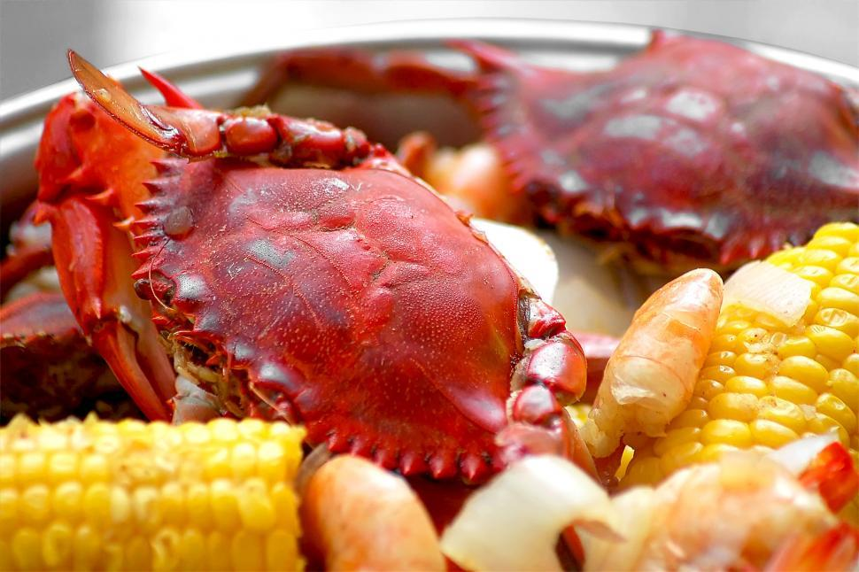 Download Free Stock HD Photo of Crab Boil #2 Online