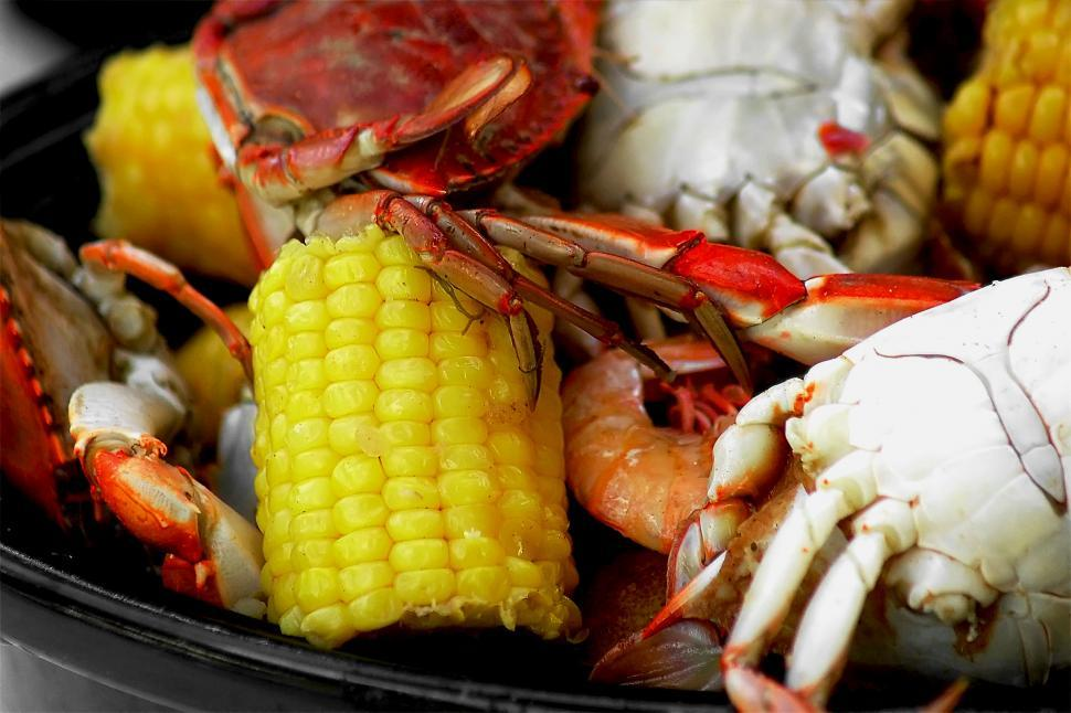 Download Free Stock HD Photo of Crab Boil #3 Online