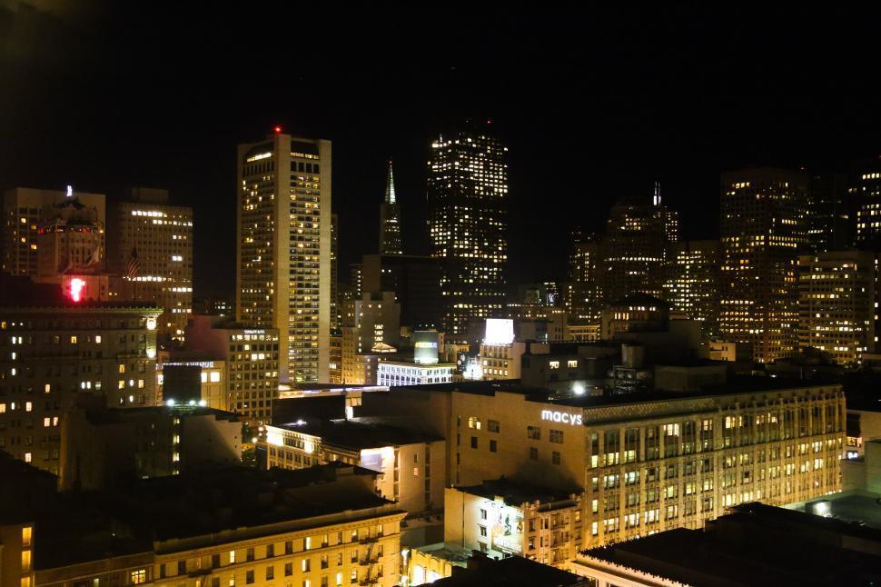 Download Free Stock HD Photo of San Franscisco Skyline Online