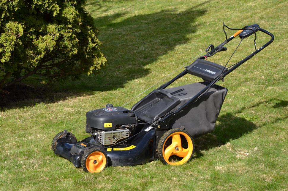 Download Free Stock HD Photo of Gas Lawn mower Online