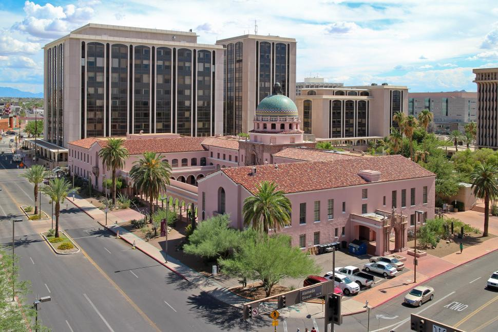 Download Free Stock HD Photo of Tucson Courthouse Online