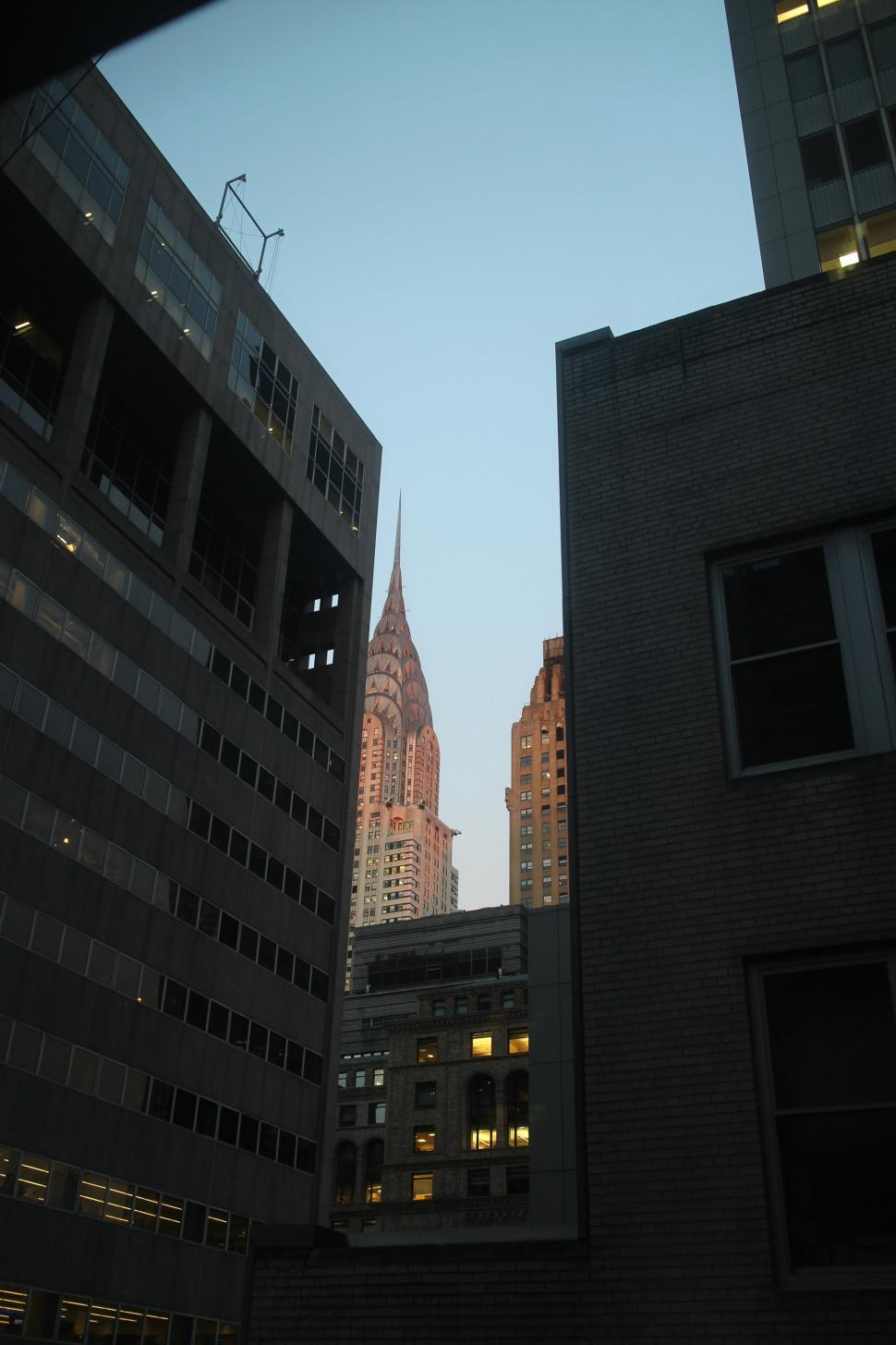 Download Free Stock HD Photo of Skyline of Chrysler Building Online