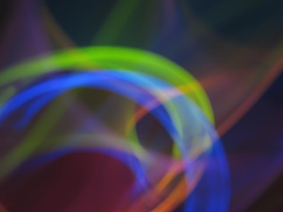 Download Free Stock HD Photo of Colorful light streaks Online