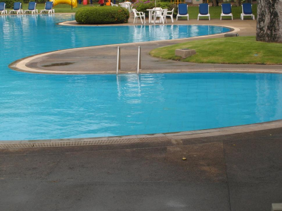 Download Free Stock HD Photo of Curved Swimming Pool Online