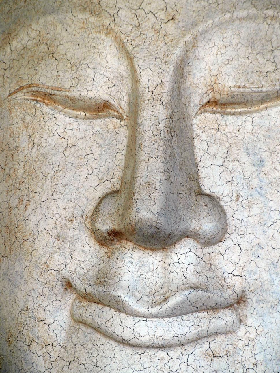 Download Free Stock HD Photo of Cracked Buddha Face Online