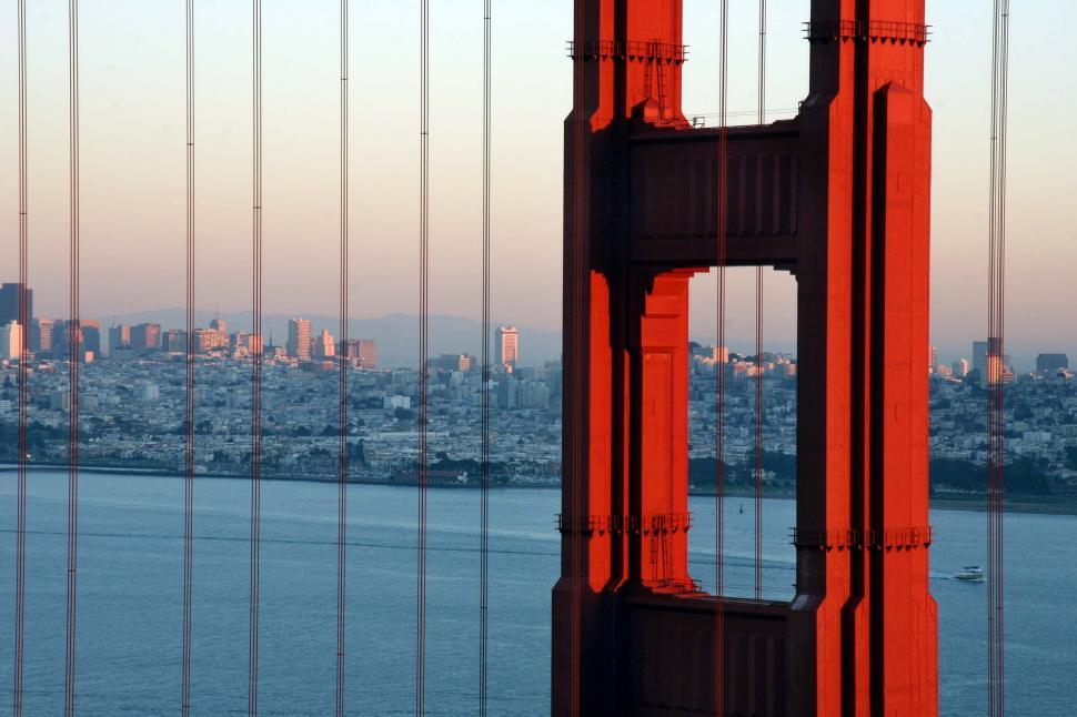 Download Free Stock HD Photo of Golden Gate view Online