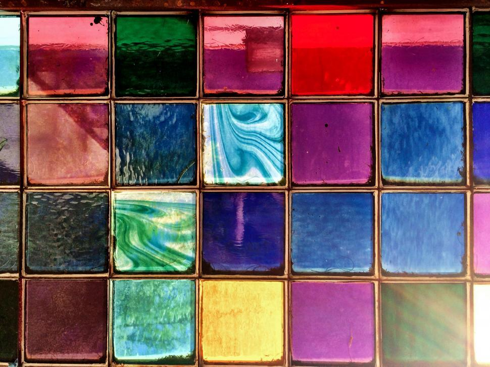 Download Free Stock HD Photo of Colorful Window Online