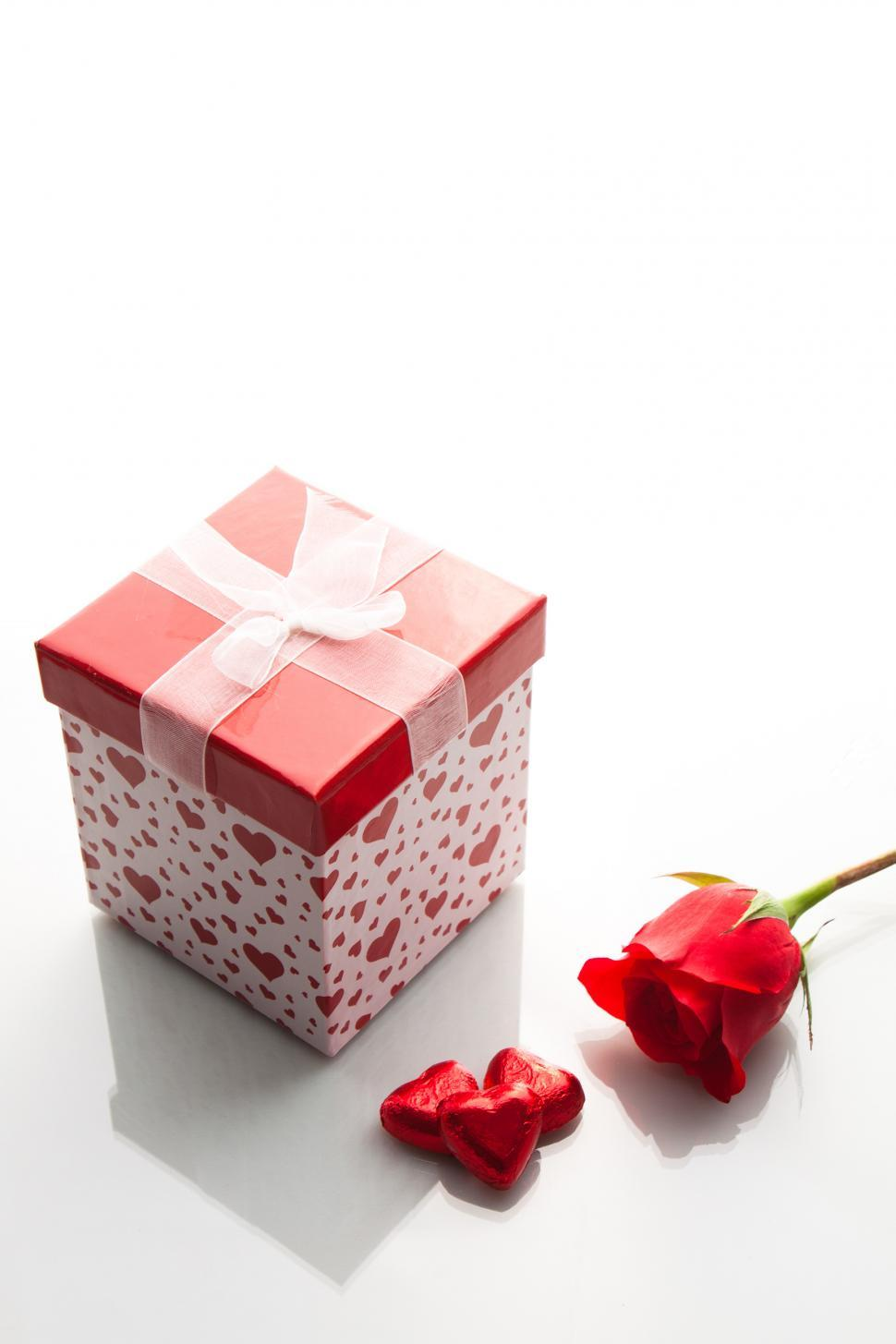 Download Free Stock HD Photo of Valentine Gift box Online