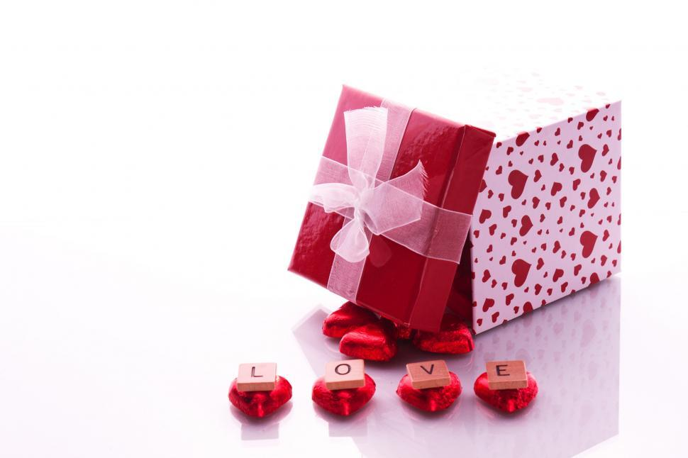 Get Free Stock Photos Of Love Letters With Gift Online Download