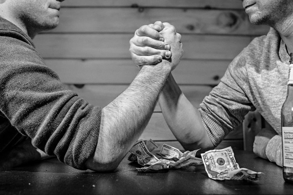 Download Free Stock HD Photo of Arm wrestling competition Online