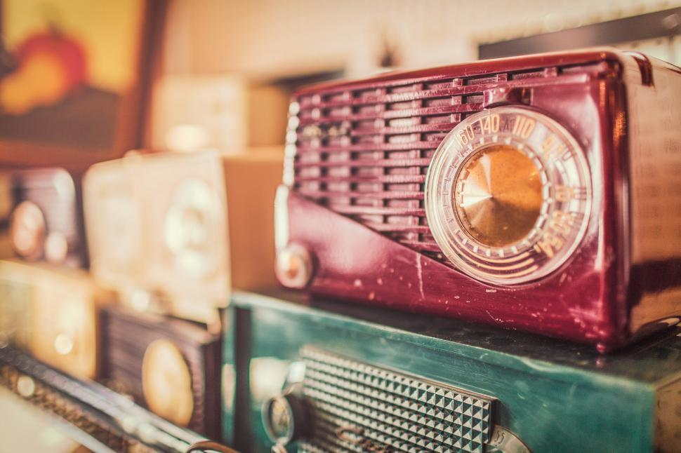 Download Free Stock HD Photo of Old radio Online