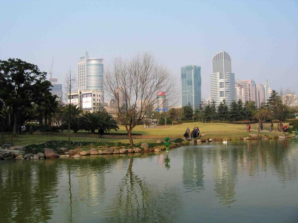 Download Free Stock HD Photo of Urban park Online