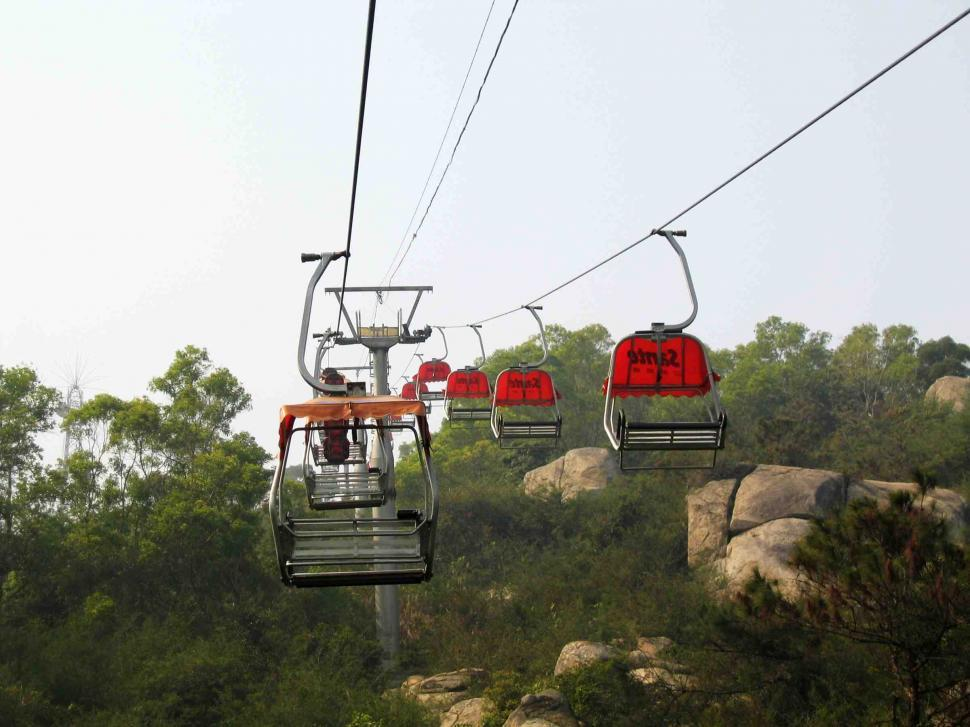 Download Free Stock HD Photo of Cableway Online
