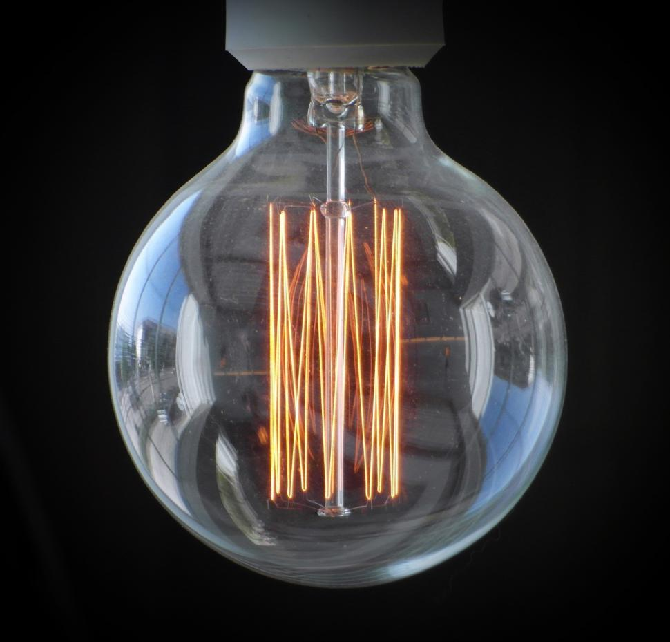Download Free Stock HD Photo of Edison Light Bulb Online