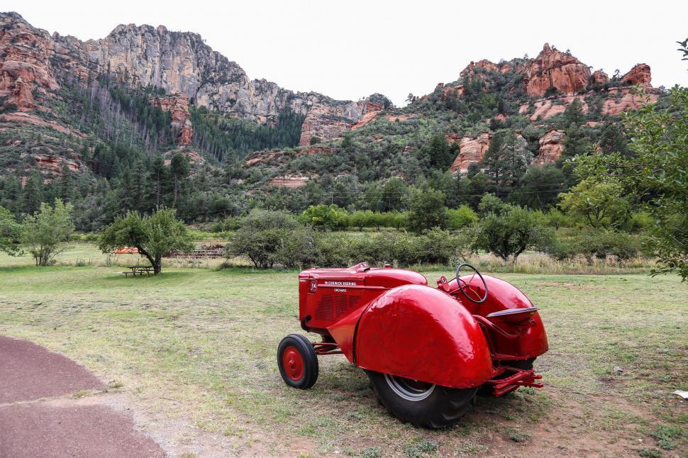 Download Free Stock HD Photo of Slide Rock Tractor Online
