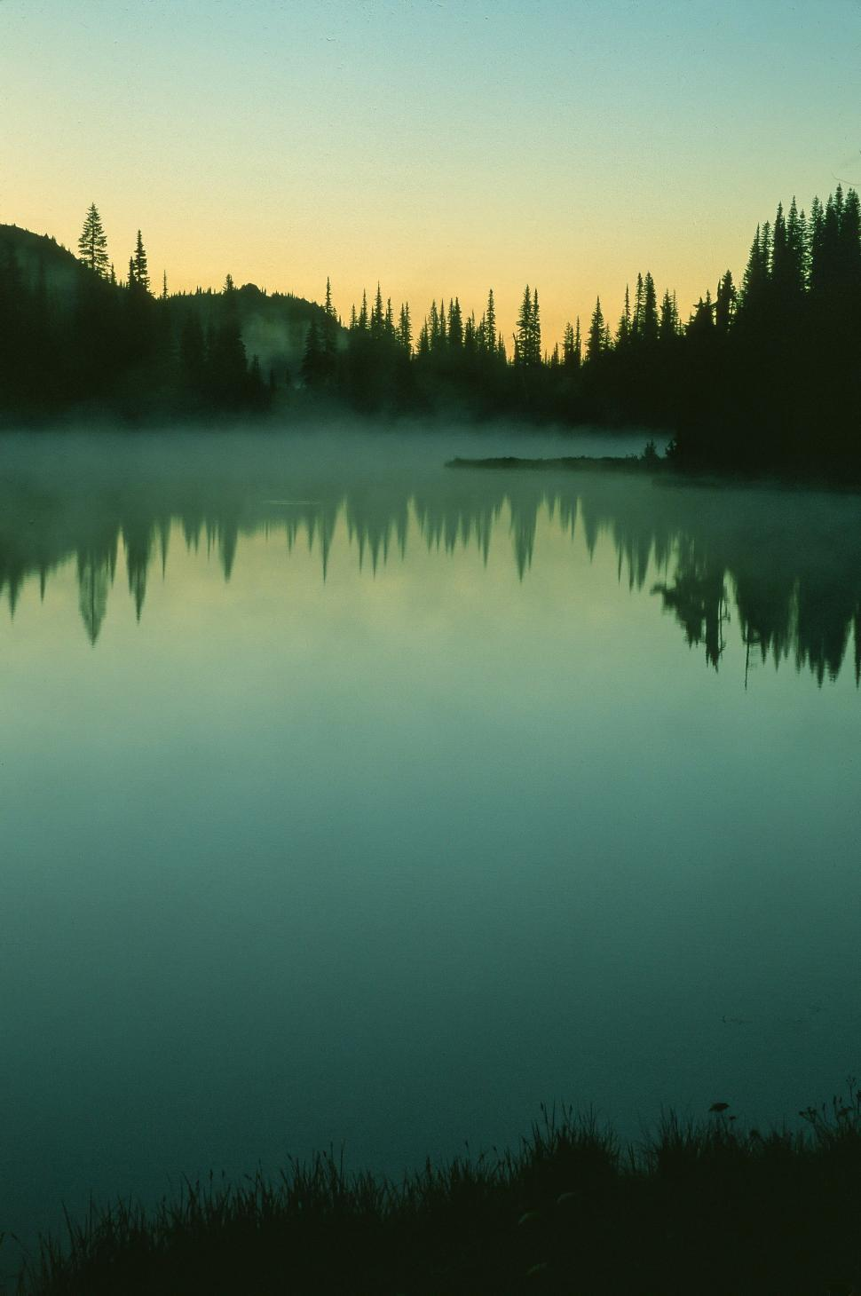 Download Free Stock HD Photo of Reflection Lake, Mount Rainier  Online