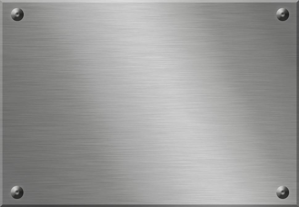 Download Free Stock HD Photo of Metal plate Online