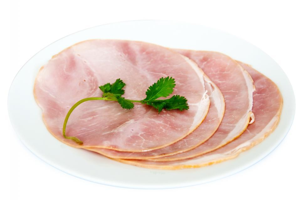 Download Free Stock HD Photo of ham slices Online