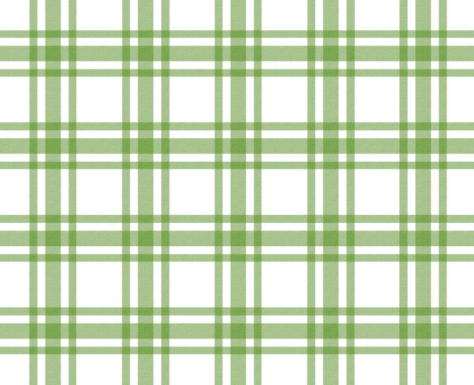 Download Free Stock HD Photo of Green and white tablecloth pattern Online