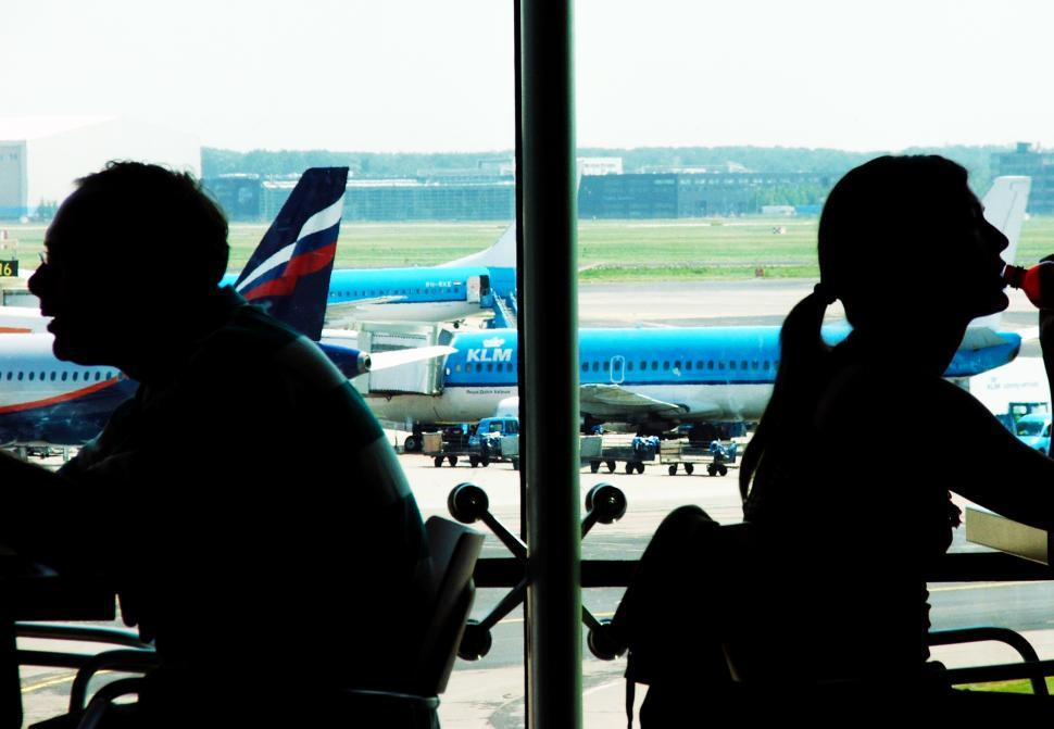Download Free Stock HD Photo of People waiting at airport Online