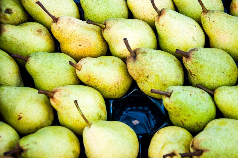 Download Free Stock HD Photo of Green pears Online