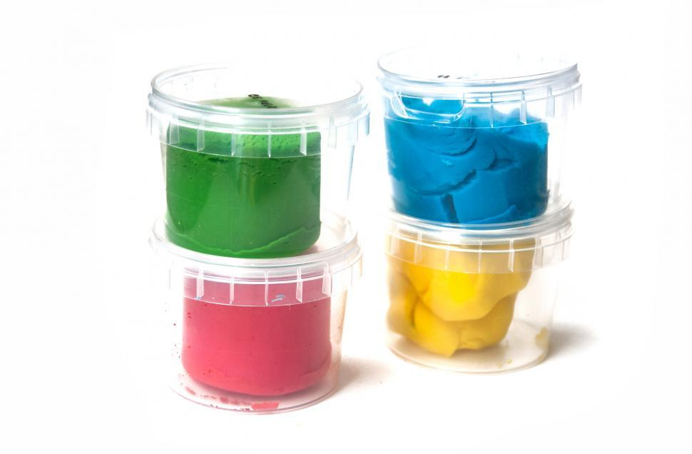 Download Free Stock HD Photo of Playdoh childrens clay Online