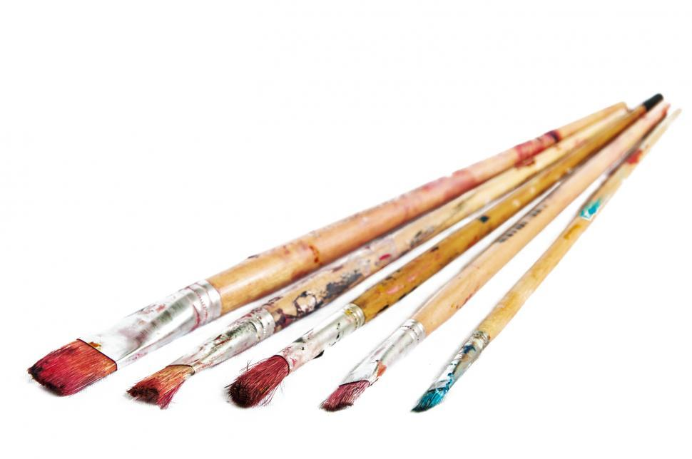 Download Free Stock HD Photo of Paints and brushes Online