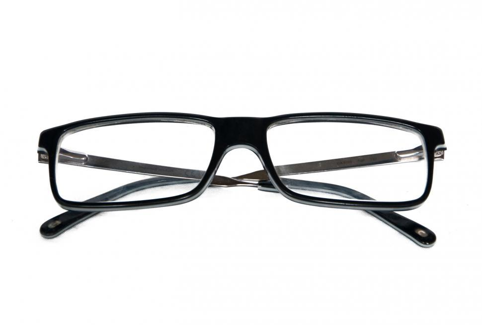Download Free Stock HD Photo of Black Eye Glasses Isolated on White Online