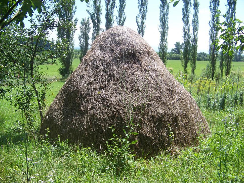 Download Free Stock HD Photo of Old hay bale Online