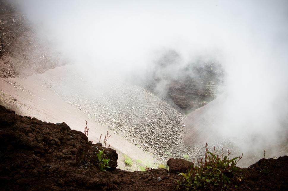 Download Free Stock HD Photo of Vesuvio Volcano crater Online