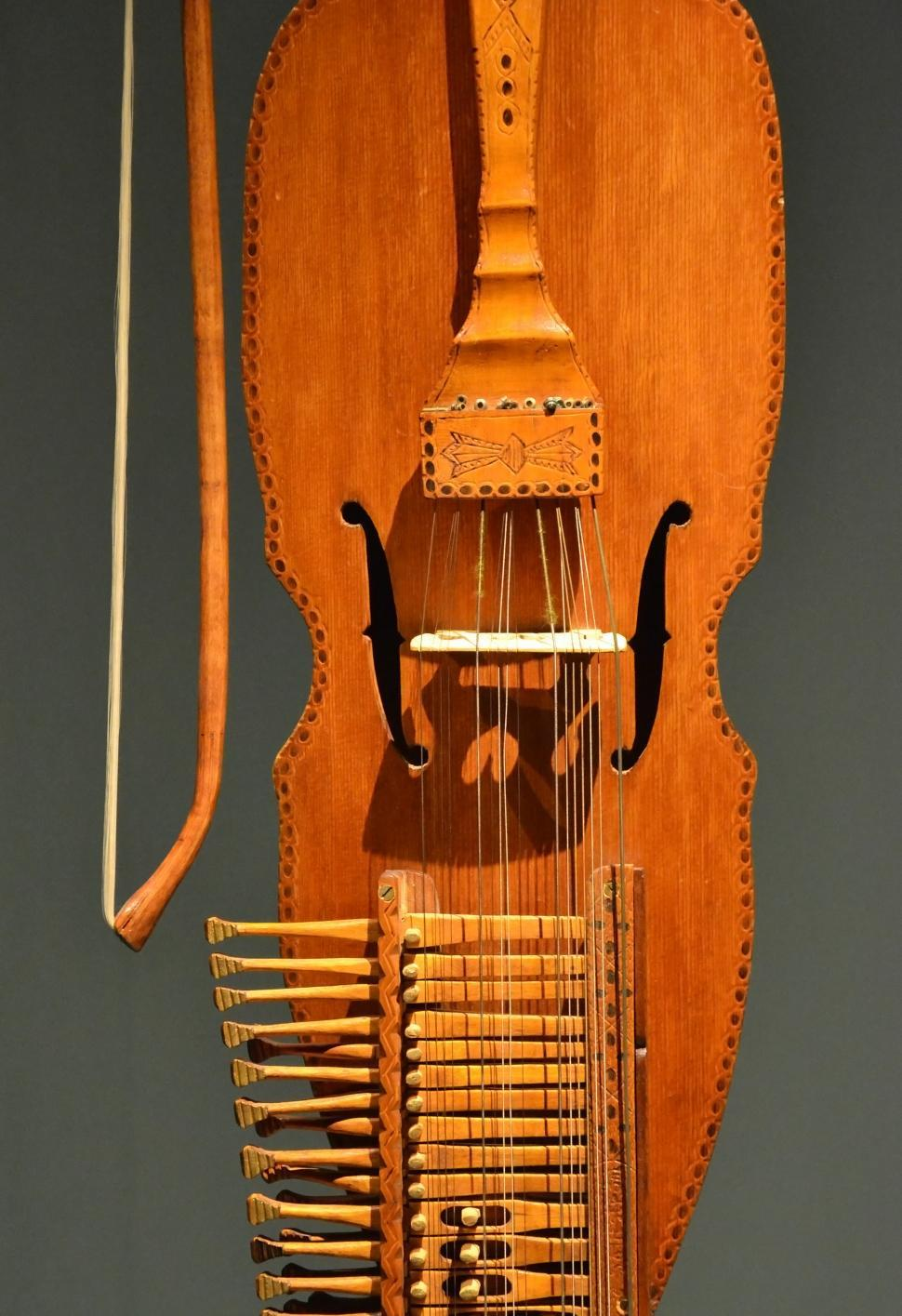 Download Free Stock HD Photo of Nyckelharpa detail Online