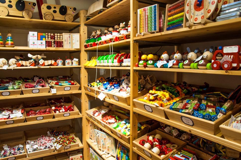 Download Free Stock HD Photo of toy store Online