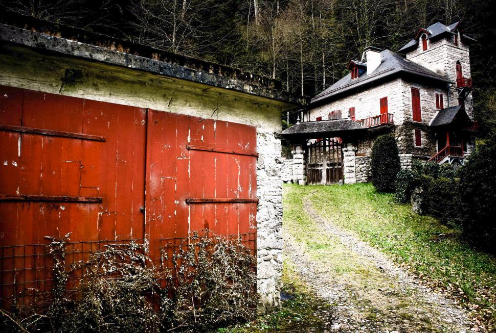 Download Free Stock HD Photo of Old french house Online