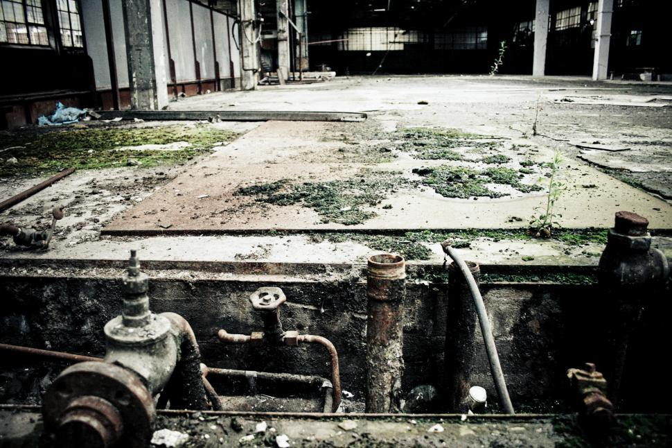 Download Free Stock HD Photo of Abandoned factory Online