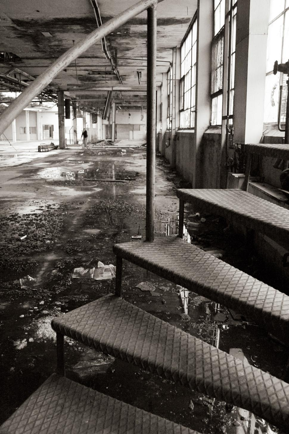 Download Free Stock HD Photo of Abandoned factory floor Online