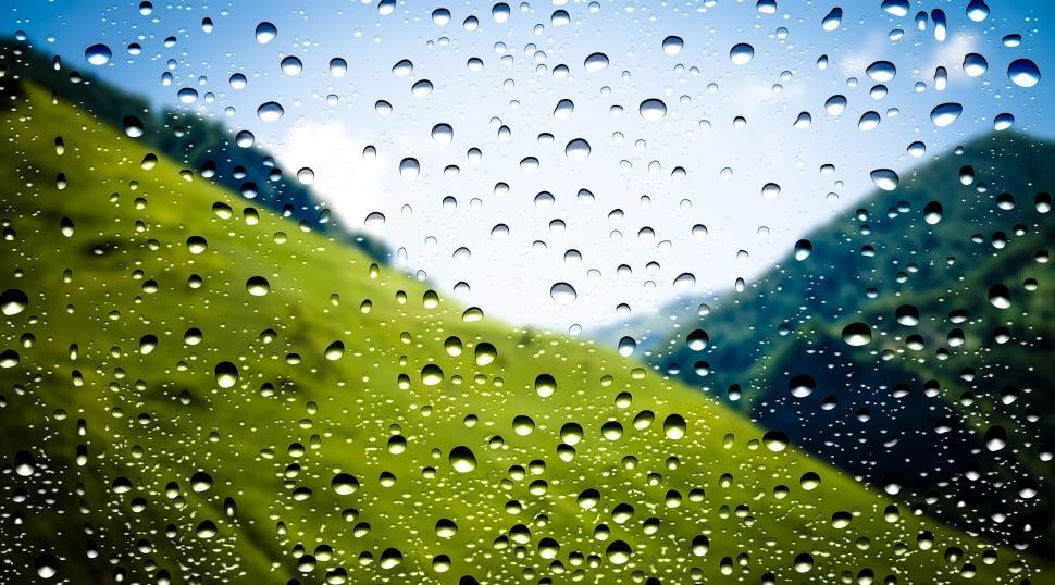 Download Free Stock HD Photo of Waterdrops on window Online
