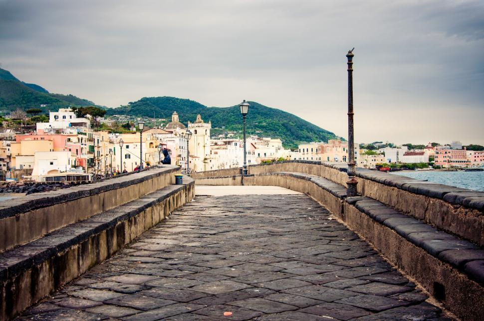 Download Free Stock HD Photo of Ischia porto town Online
