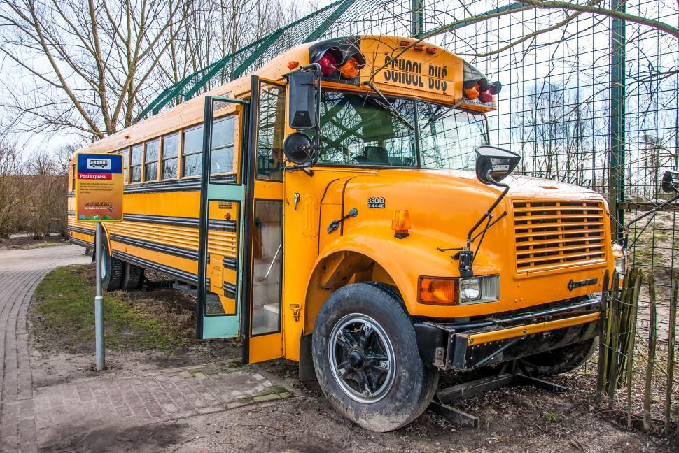 Download Free Stock HD Photo of Yellow school bus  Online