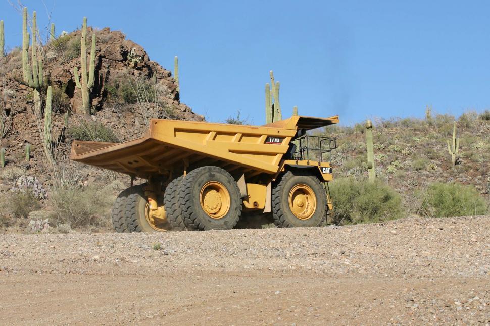 Download Free Stock HD Photo of Big dump truck Online