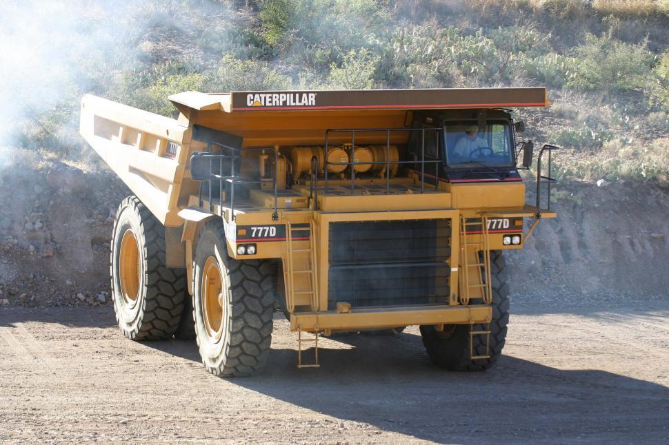 Download Free Stock HD Photo of Heavy mining truck Online