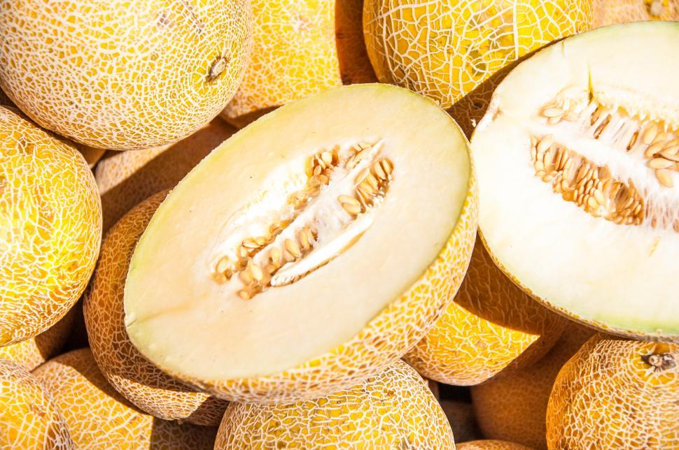 Download Free Stock HD Photo of Fresh Galia Melons Online