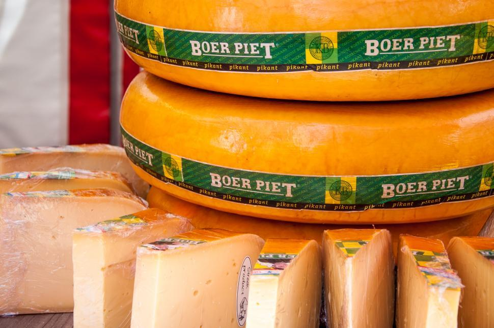 Download Free Stock HD Photo of dutch gouda cheese Online