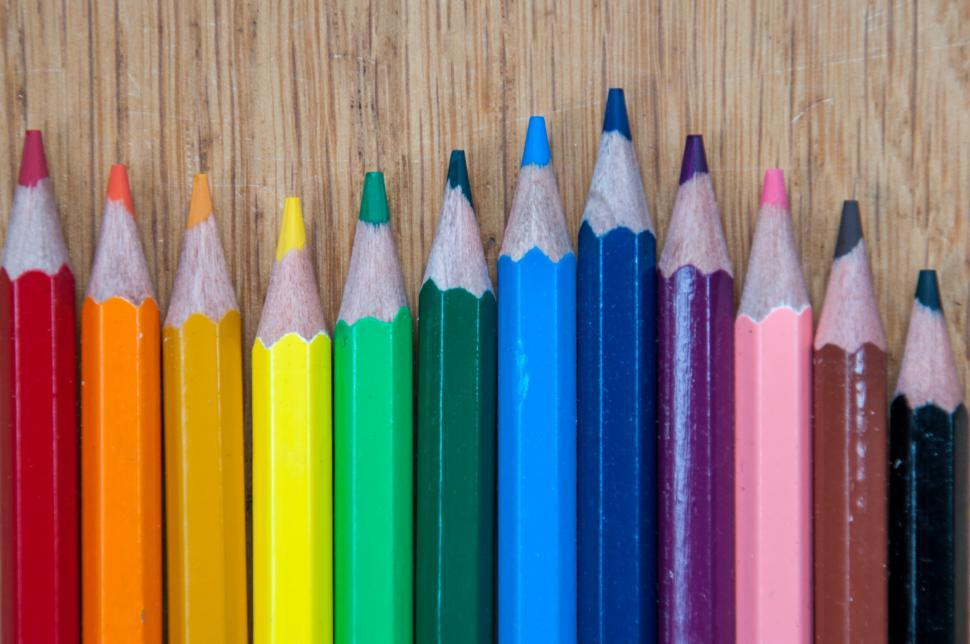 Download Free Stock HD Photo of Color pencils Online